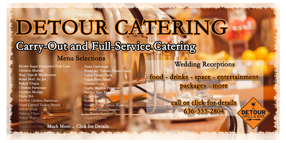 Detour Grill and Bar Catering